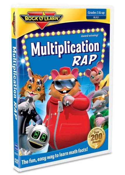 Multiplication Rap DVD & Video Download – Rock 'N Learn