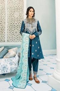 Cross Stitch Online Ashley Blue Mehek Cotton Satin Collection 2020
