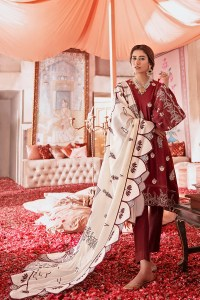 Cross Stitch Online Rouge Ivory Nur Jahan Collection 2020