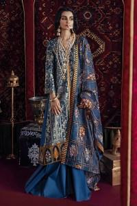 Cross Stitch Online Deewan-e Khas-B Razia Sultana Jaquard Collection 2020