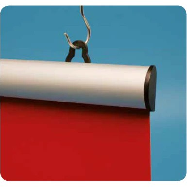 aluminium snap lock poster rail hanging frame kit kad2