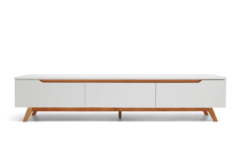 console tv design scandinave cima