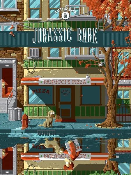 Florey Quot Jurassic Bark Quot Bottleneck Art Gallery
