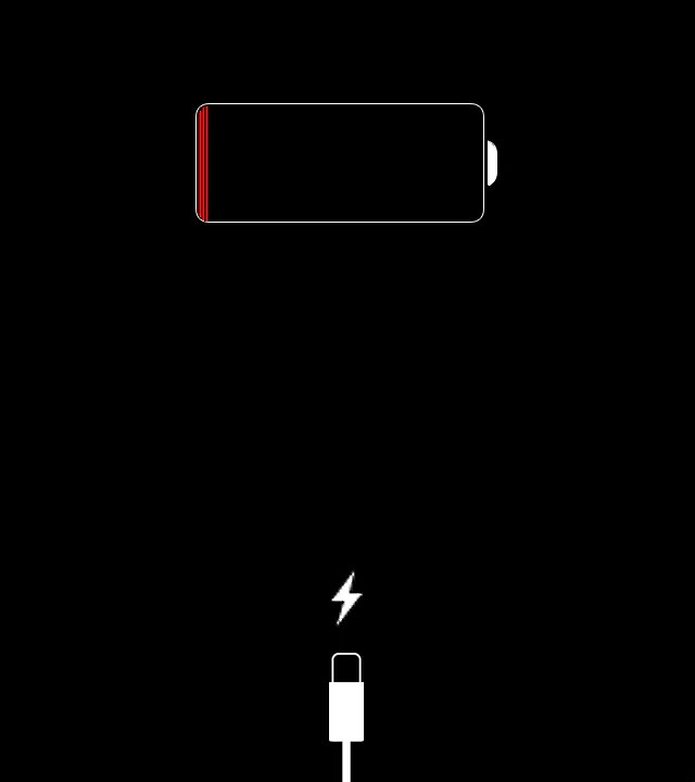 Image result for iphone dead battery