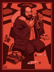 """Genius at Work: """"Kubrick"""" by Phillip Ellering $45.00"""