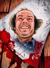 """""""The Shining"""" by Trev Murphy $25.00 - SOLD OUT"""