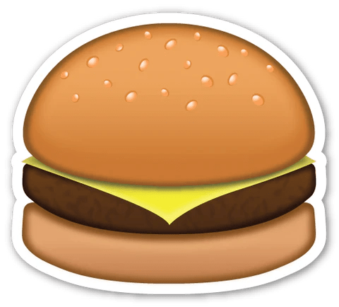 Image result for burger emoji