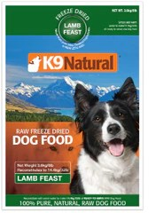 K9 Natural - Lamb 8lb (Makes 32lb)