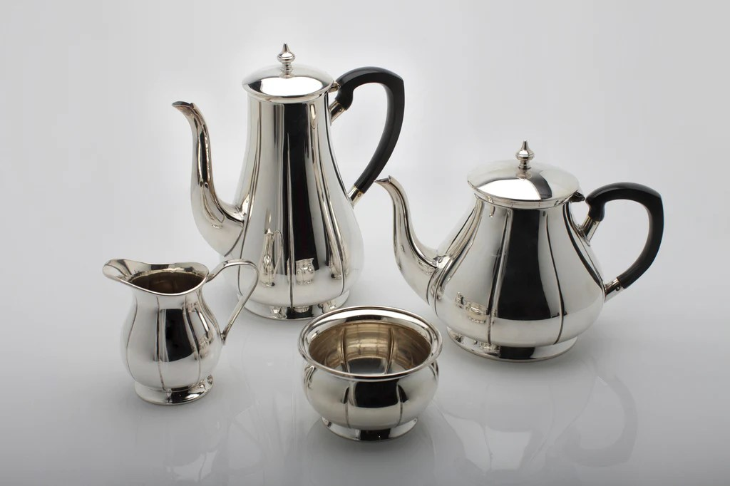 Silver Set Tea Epns Plated