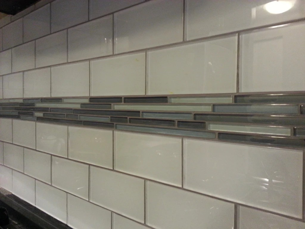 snow white 3x6 glass subway tiles