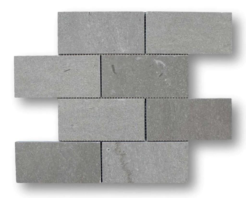 arctic gray marble 3x6 subway tile