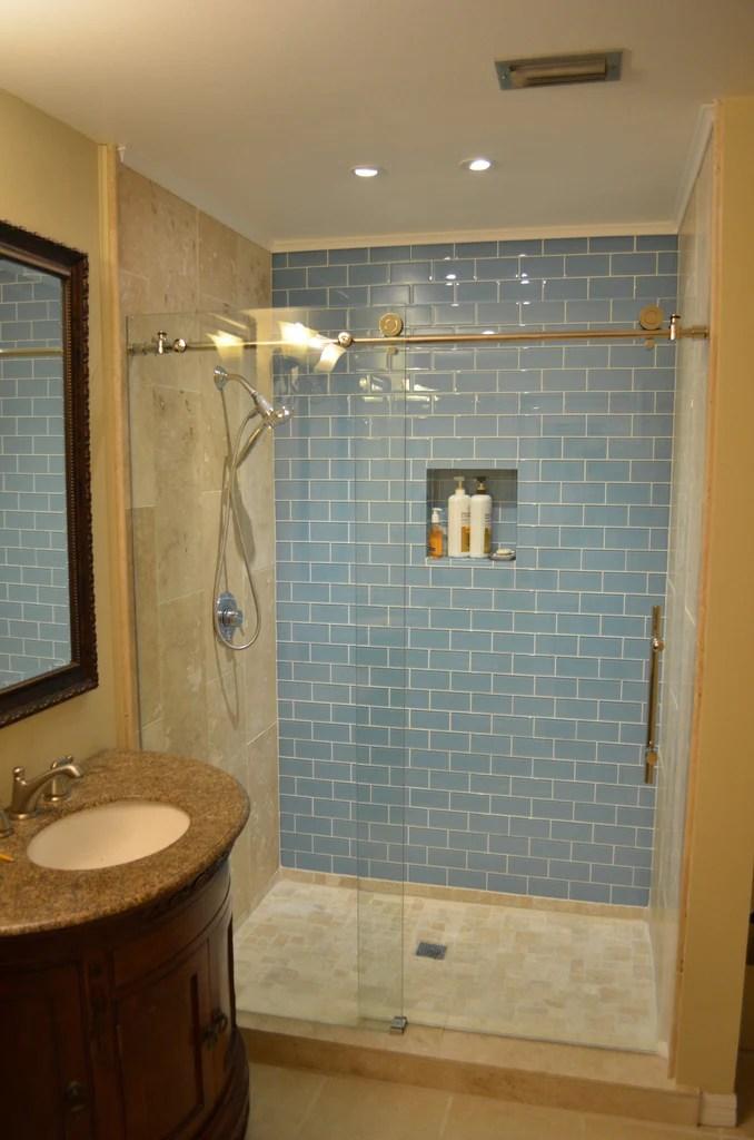 2x12 and 3x6 glass tiles