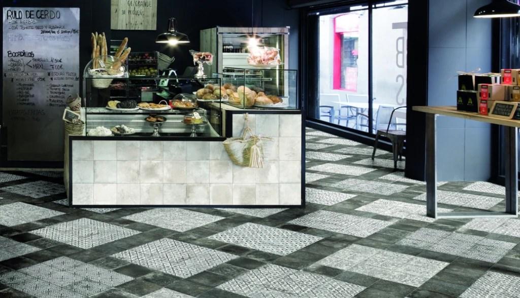 mariner 900 8x8 glazed porcelain pattern floor tiles nera decor maioliche 9
