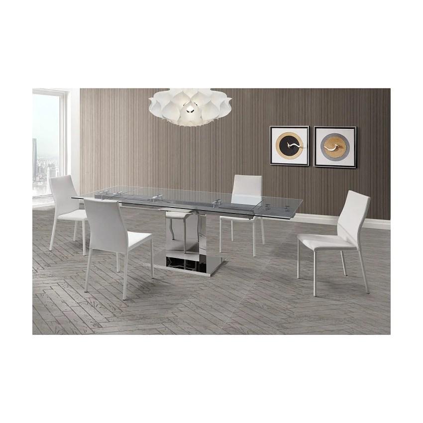 Whiteline Slim Dining Table 2bmod