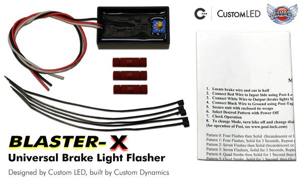 Universal Magic Strobes Brake Light Flasher Modulator with