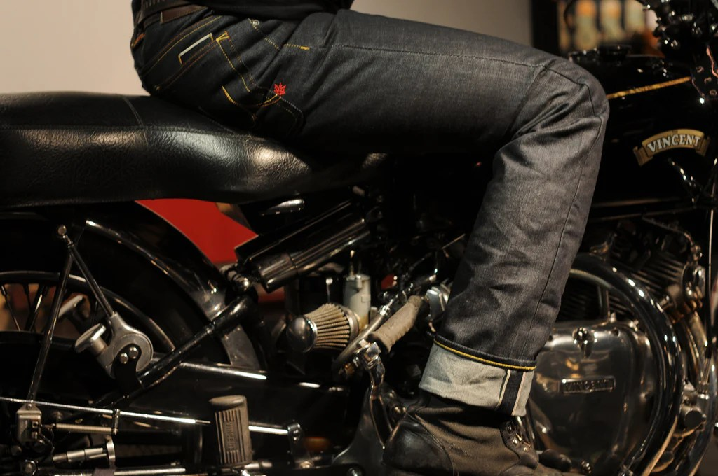 Kevlar Motorcycle Jeans with Armour :: Maple Motorcycle Jeans
