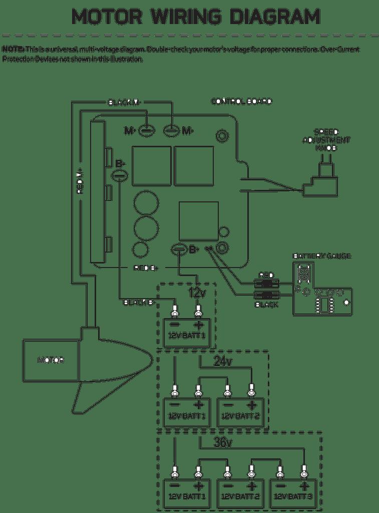 Minn Kota 2436v Control Board Assembly 2774037 | Northland Marine