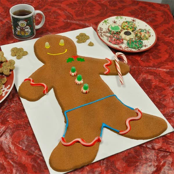 Great Big Gingerbread Man Kit   Giant Gingerbread Man Kit from     Gingerbread Man Kit