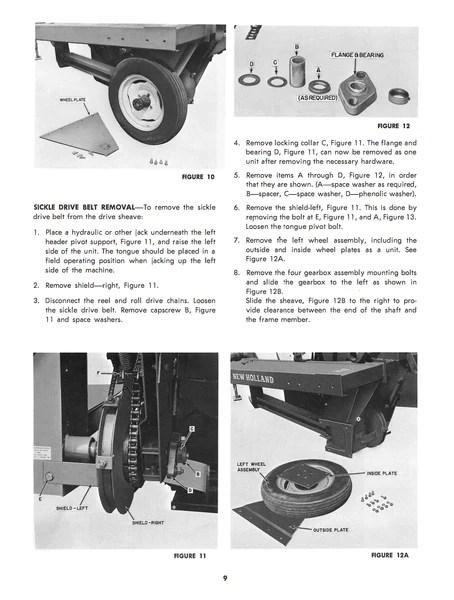 New Holland 461 Haybine MowerConditioner Manual