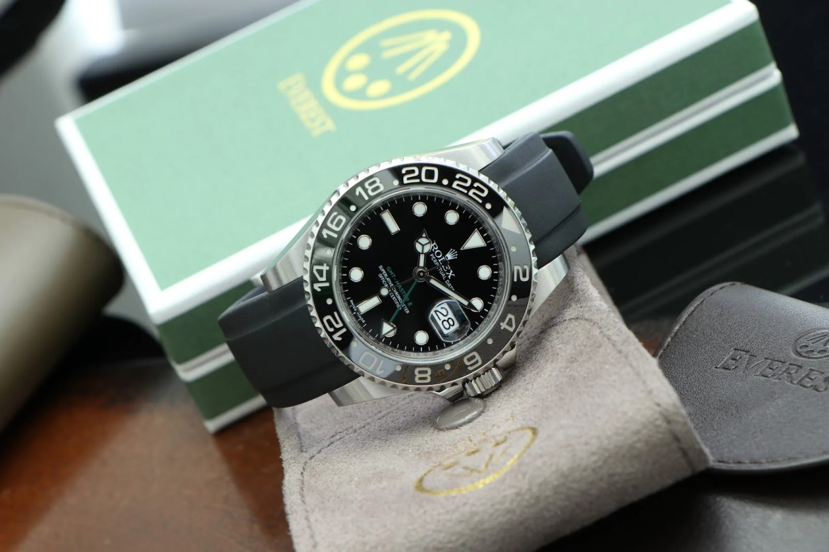 rolex gmt on everest band