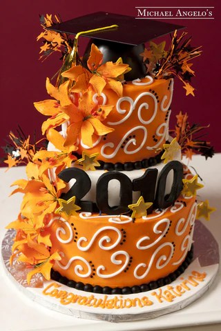 Graduation Cakes Michael Angelos Bakery