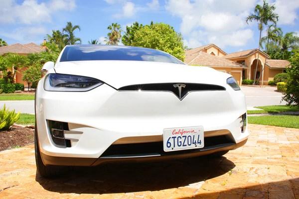 Tesla Model S License Plate Holder