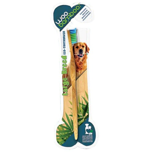 Toothbrush For Large Dog Each by Woo Bamboo