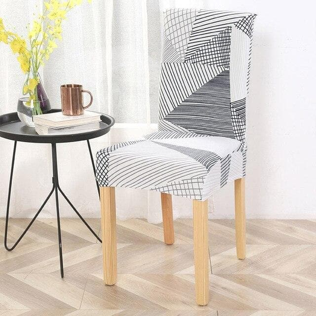 housse de chaise style scandinave