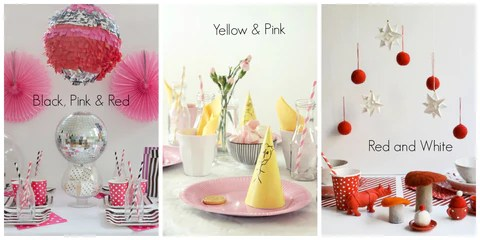 Colours for Parties 2013 Trends