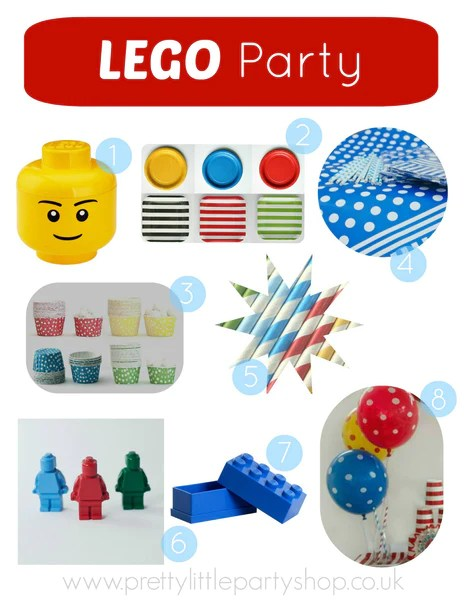 Lego Party Theme Ideas