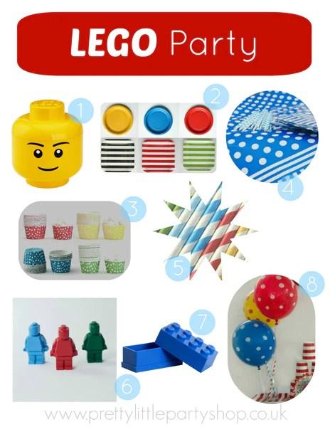 Lego Party Theme Ideas