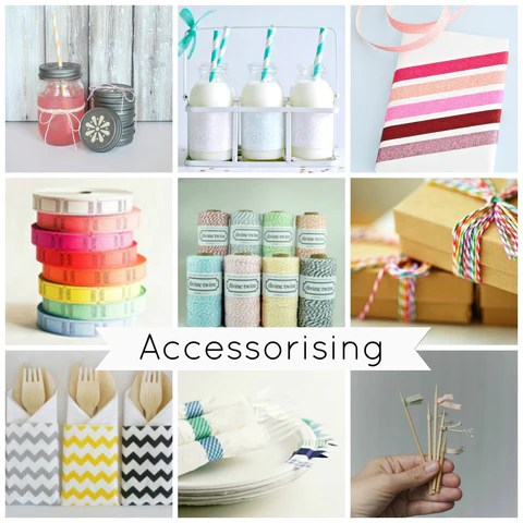 Party Accessories, Tape, String, Washi, Bottles