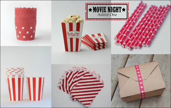 Movie Party Supplies and Products