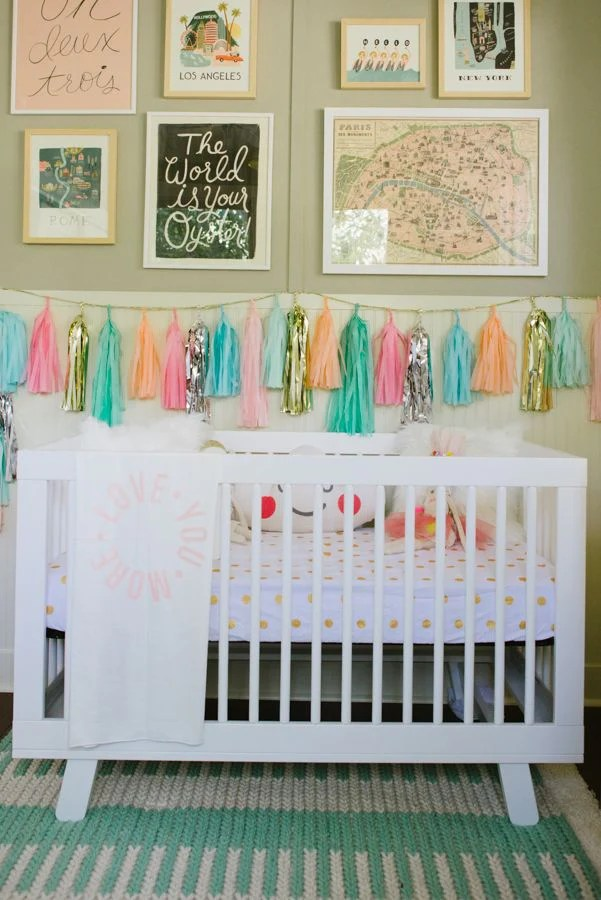 Tassel Garland in Nursery