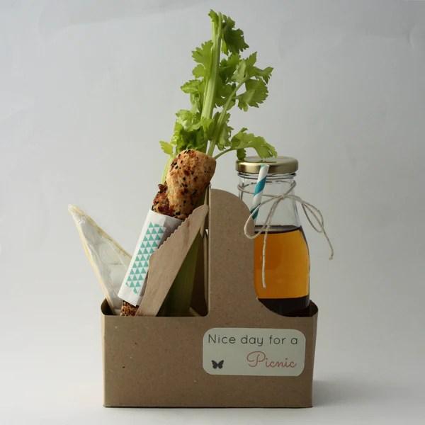 Mini picnic in a box