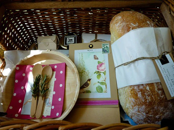 Beautiful picnic supplies