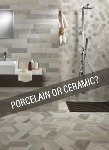 flooring blog porcelain vs ceramic