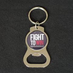 """""""Fight to Win"""" Bottle Opener"""