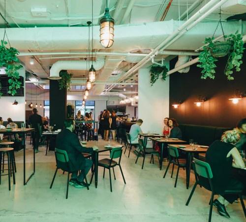 industrial restaurant bar cafe