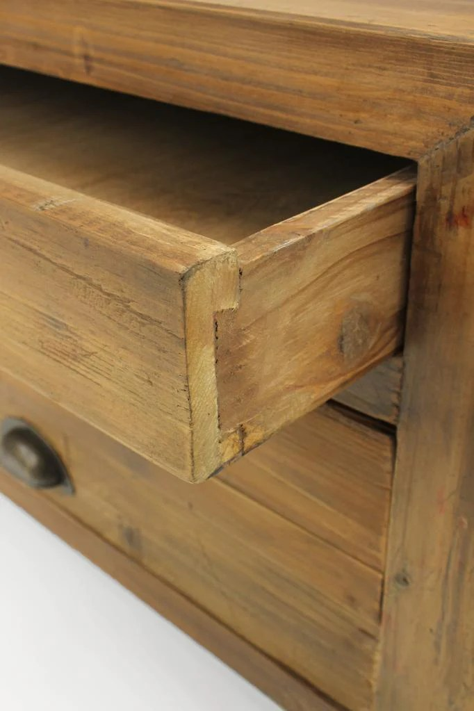 benton 2 drawer coffee table storage