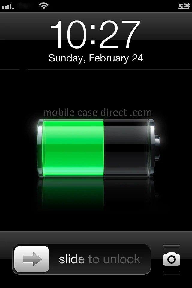 Calibrate iPhone Battery Indicator