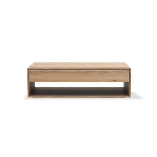 oak nordic coffee table