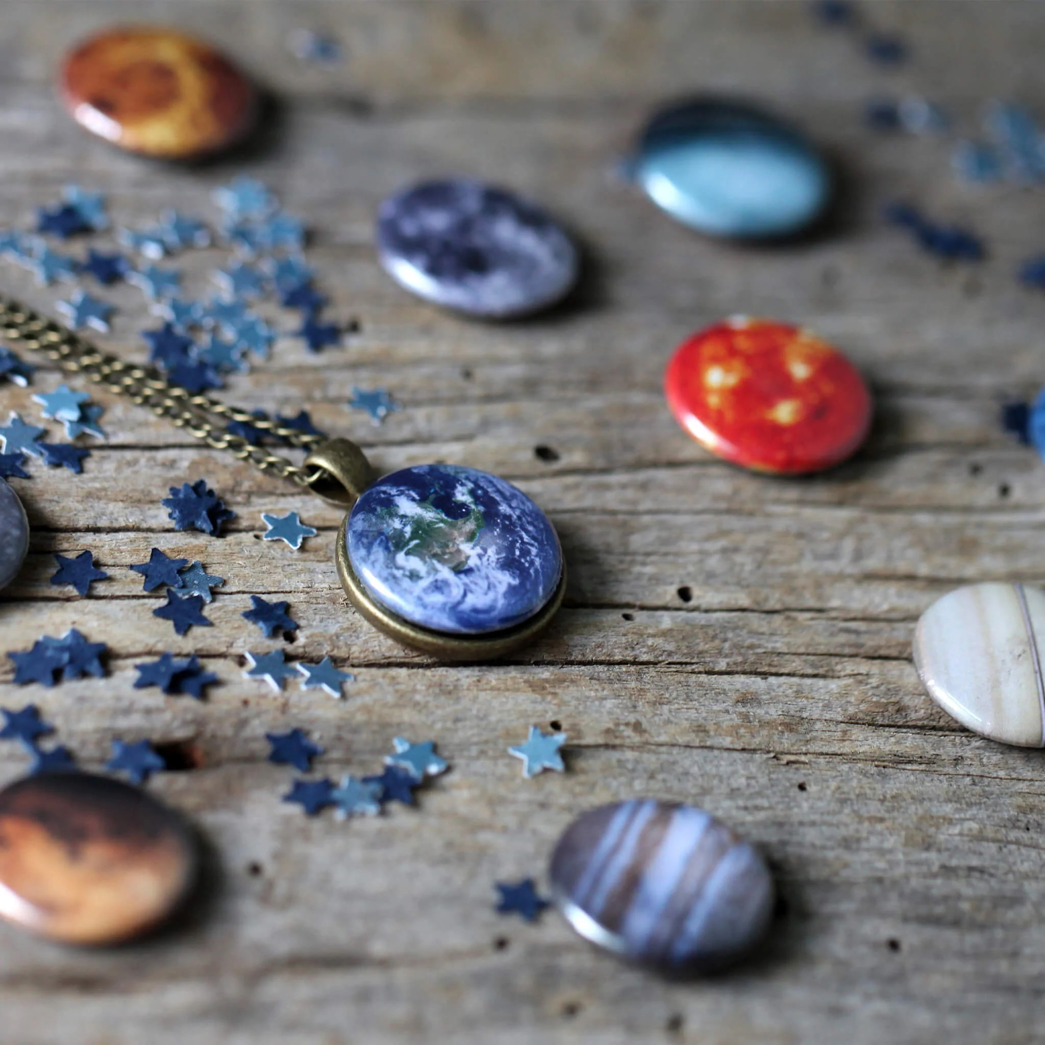 Interchangeable Solar System Necklace Yugen Tribe