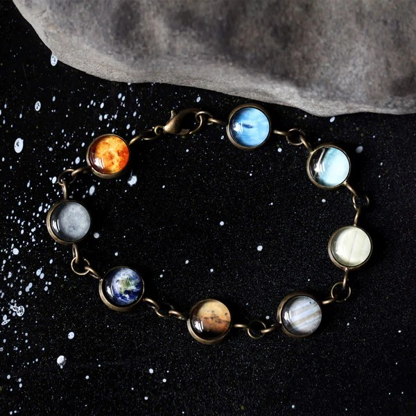 Solar System Galaxy Bracelet of the Milky Way with 8 or 9 ...
