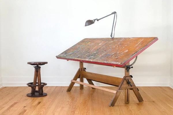 Hamilton Studio Drafting Table Homestead Seattle