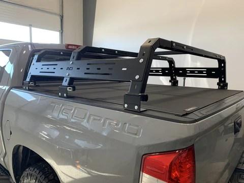 roof rack or bed rack for overlanding