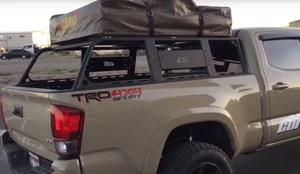 cbi off road 3rd gen toyota tacoma overland bed rack 2016 current