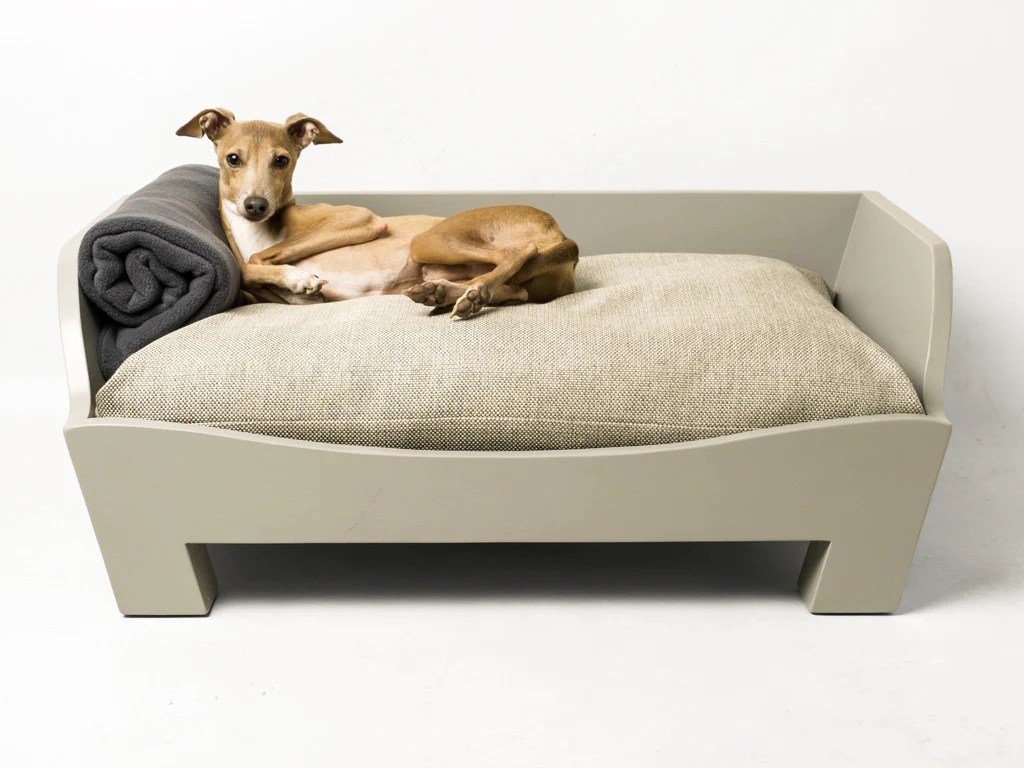 Raised Wooden Dog Bed Charley Chau Luxury Dog Beds Blankets