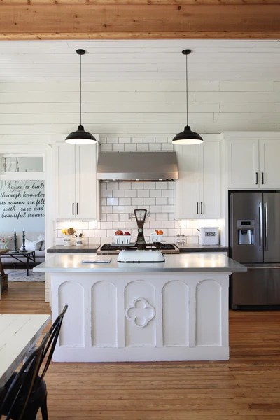 Chip and Joanna Gaines' Farmhouse kitchen.
