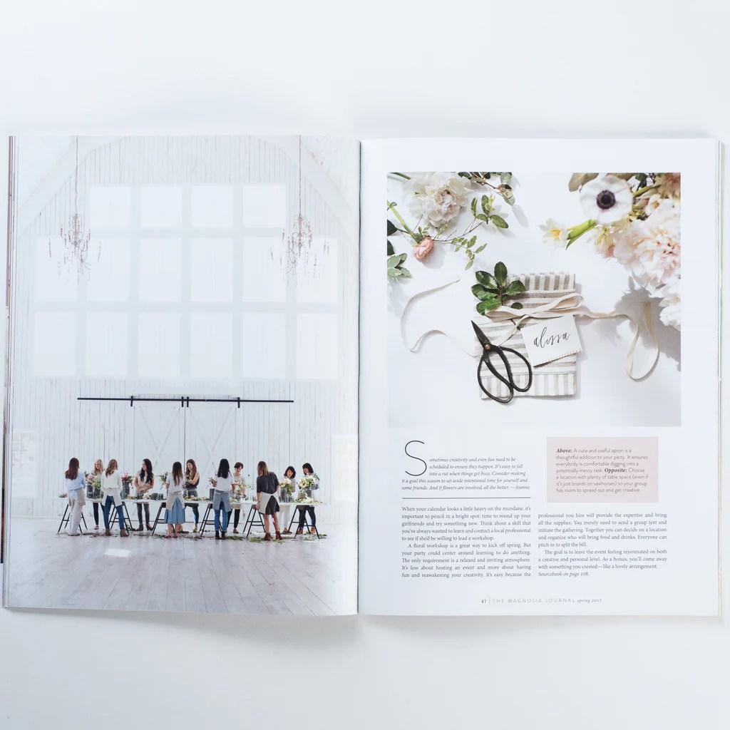 1 Issue Journal Magnolia